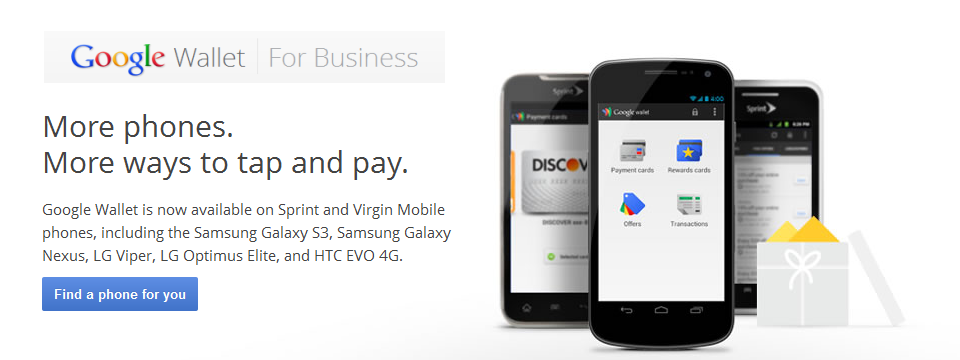 Mobile Payments - Google Wallet